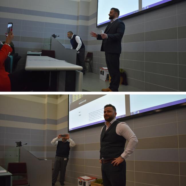 James Priestley Bradford University Talk - Valor Properties