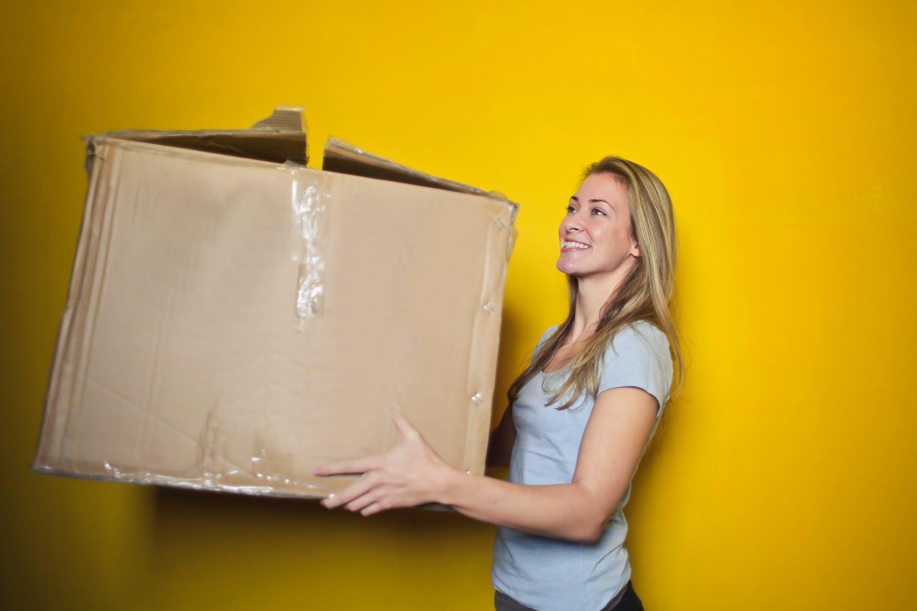 big box moving house